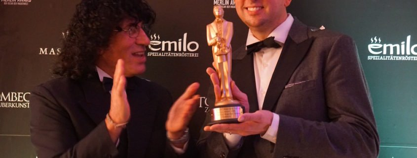 Zauberer TOMBECK gewinnt den Merlin Award
