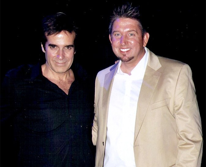 Zwei Zauberer in Las Vegas - TOMBECK mit Starmagier David Copperfield