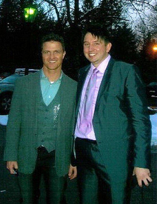 Zauberer TOMBECK und Ralf Schumacher