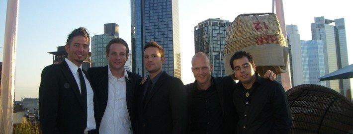 TOMBECK mit seinen Kollegen aus der Zauberei in Frankfurt