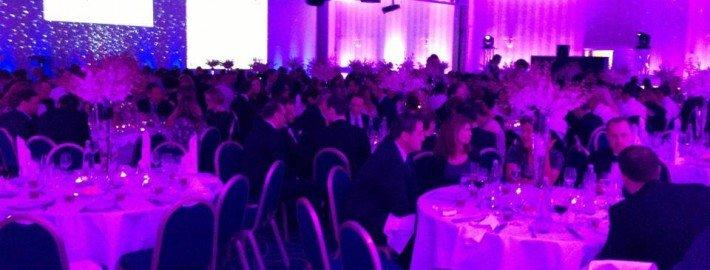 Unterhaltung mit Zauberei bei einem Galaabend im Hilton Park München