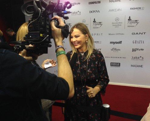 Zauberer TOMBECK als Markenbotschafter für das Luxuslabel Baldessarini auf der Fashion Week Berlin