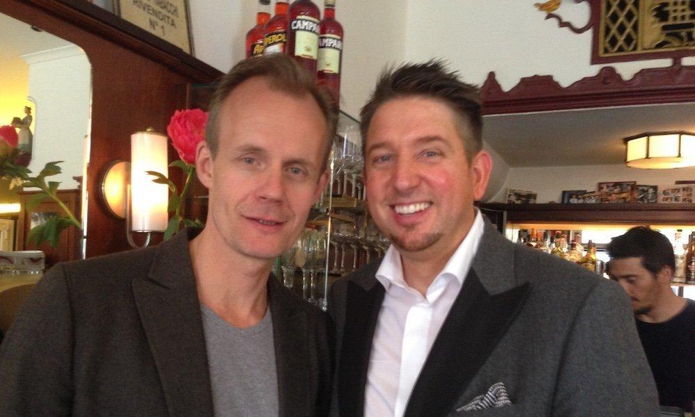 Zauberer TOMBECK und Max Uthoff aus dem ZDF-Kabarett die Anstalt