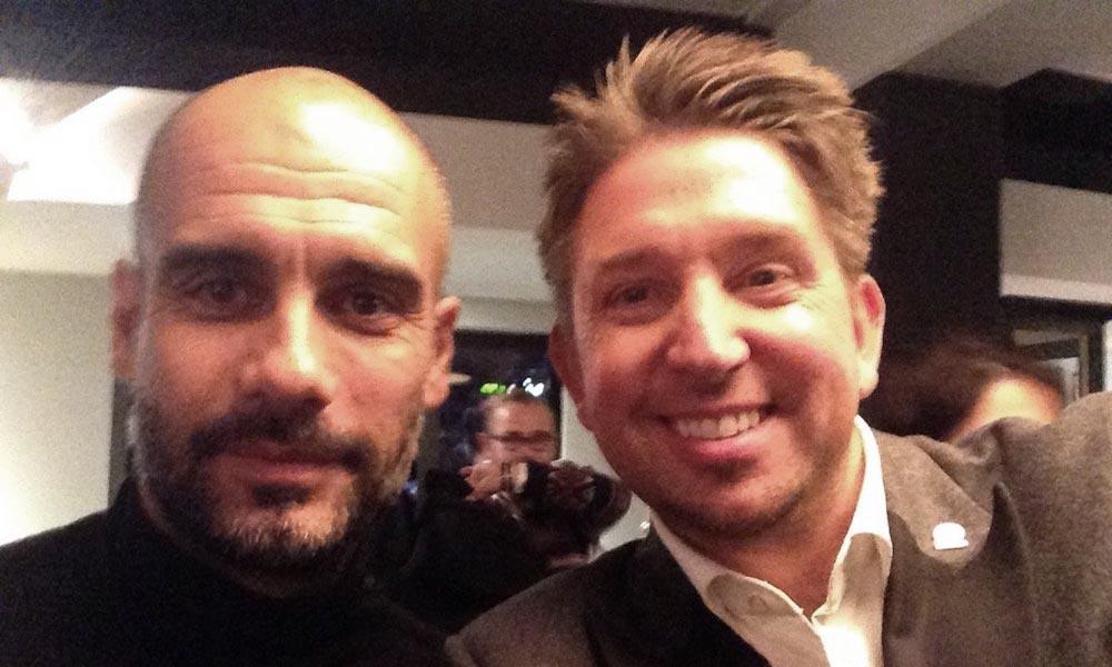 Fußballtrainer Pep Guardiola ließ sich von Zauberer TOMBECK aus München verblüffen