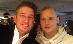 Zauberkünstler TOMBECK mit Promi Sebastian Rode von Borussia Dortmund