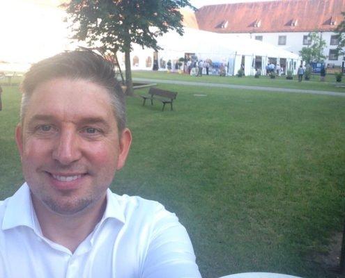 Zaubershow von TOMBECK beim Landkreisfest Augsburg im Kloster Thierhaupten