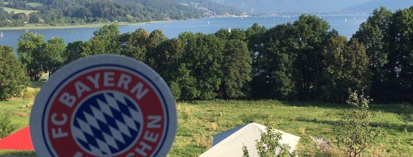 Zauberer TOMBECK auf dem FC Bayern München Charity Golf Cup