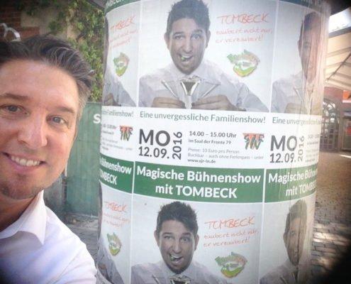 Zauberer TOMBECK verzaubert Ingolstadt