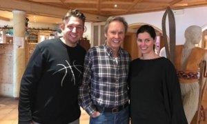 Geburtstagsfeier von Peter Kraus sowie Marianne & Michael mit Zauberkünstler TOMBECK aus München.
