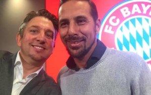 Zauberer TOMBECK und Claudio Pizarro