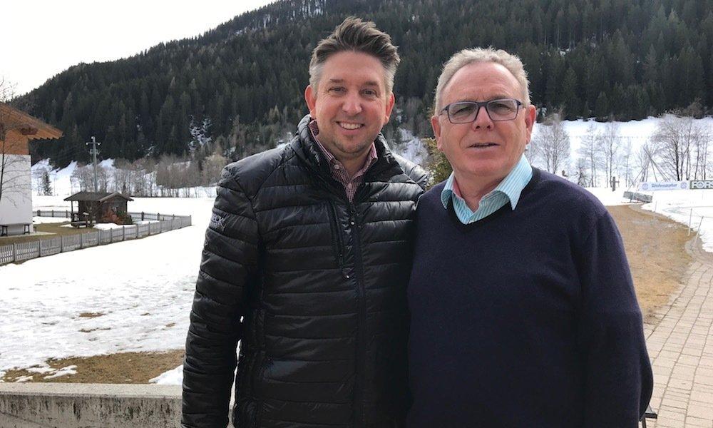 Franz Michelberger ließ sich in Südtirol / Italien von Zauberer TOMBECK begeistern