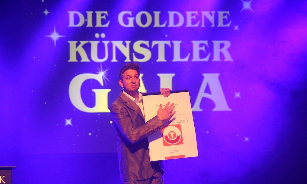 TOMBECK bei der goldenen Künstler Gala in Filderstadt