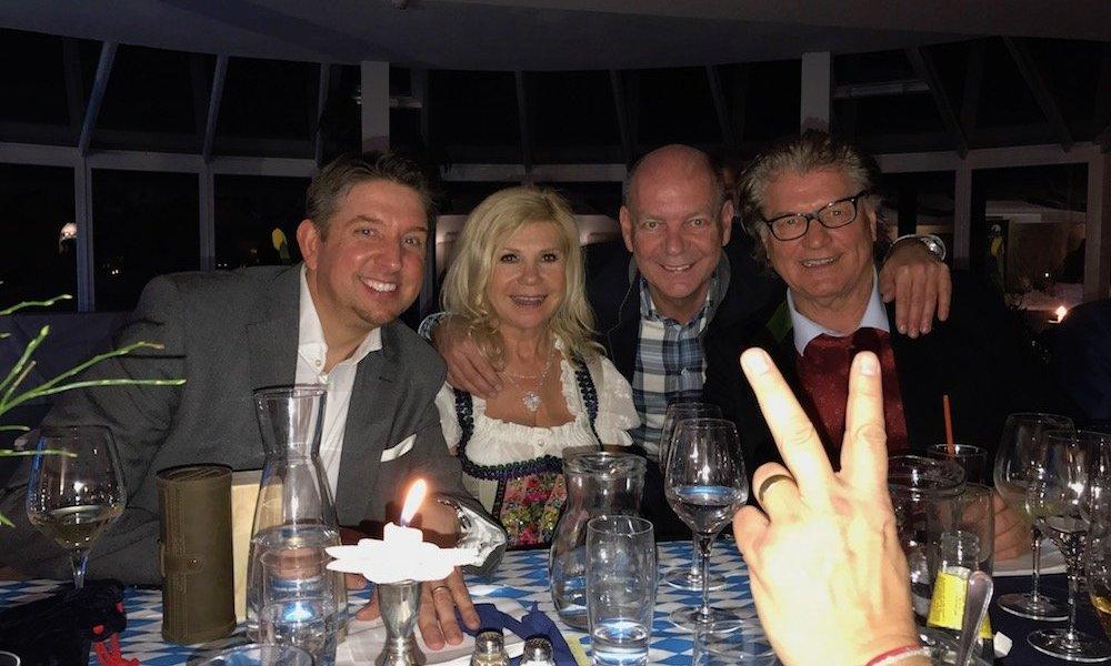 Zauberkünstler TOMBECK auf der Geburtstagsfeier der Volksmusikstars Marianne & Michael