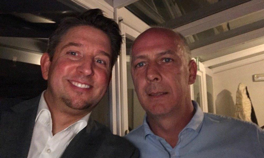 Zauberer TOMBECK verzaubert Mario Basler in Südtirol Italien