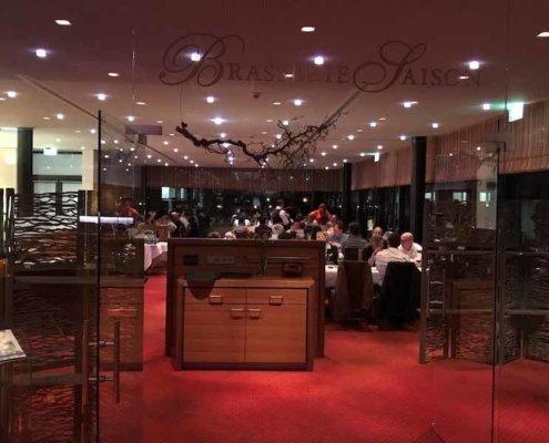 Die Hauff-Technik lud Zauberer TOMBECK in das Schlosshotel park Consul zur Jahresveranstaltung.