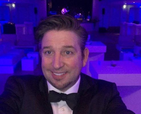 Zauberer TOMBECK begeistert beim LEO-Award in Hamburg.